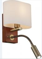 INL-3095W-02Antique brass & Walnut